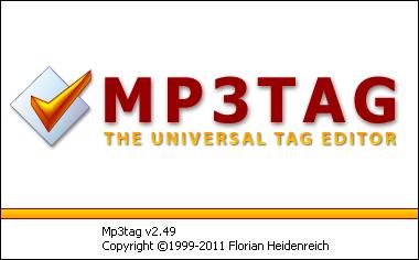 Mp3tag啟動畫面