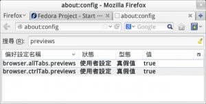 Enable Firefox Tab Previews