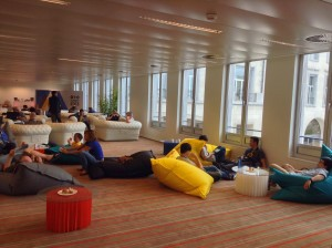 Lounge space in Mozilla Summit